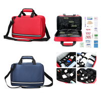 First Aid Bag Empty Small Travel Rescue Bags Waterproof Emergency Survival Kit for Home Outdoor Camping Trips
