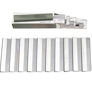 Image 5 - מקצוע גבות תער נירוסטה Microblading 100pcs גבות גוזם גבות גילוח סתגלן איפור כלים זרוק חינם