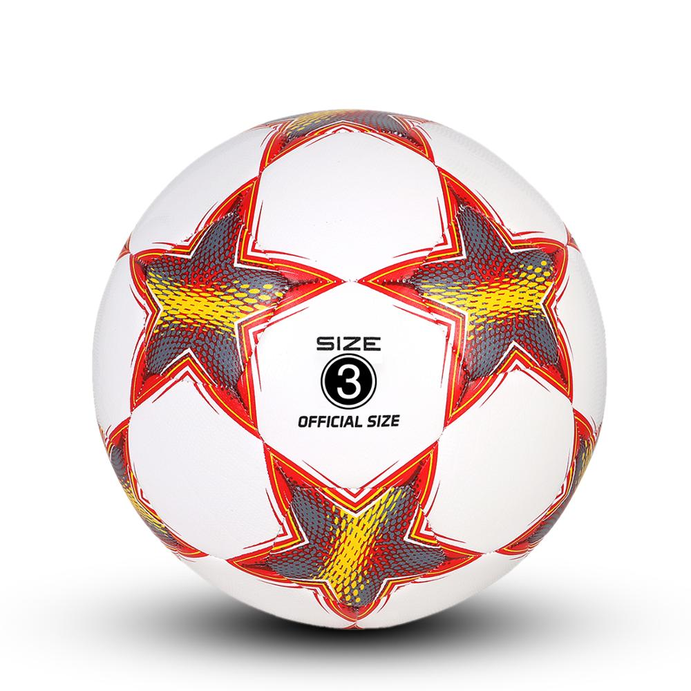 YANYODO Training  Football, Pentagram Practice Soccer Balls Classic Sizes 3,4,5 For Youth, Kids, Perfect For Outdoor & Indoor