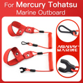 Float Kill Stop Switch For Mercury Tohatsu Marine Outboard Boat Motor 2 and 4 stroke Key Rope Safety Lanyard Tether No Sink
