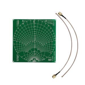 "Image 2 - TZT 50KHz 1.5GHz HF VHF UHF VNA vecteur NanoVNA Kit danalyse de réseau avec 4.3 ""LCD boîtier en métal daffichage nanovna f/H1/H4"