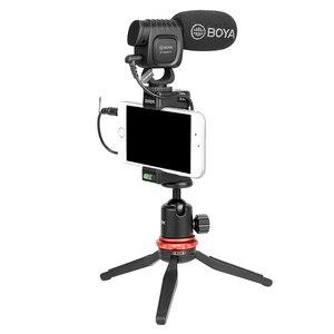 Image 4 - BOYA BY BM3011 על מצלמה שיא מיקרופון עבור Canon סוני ניקון DSLR מצלמה Smartphone 3.5MM שקע קר נעל Youtobe Vlog מיקרופון