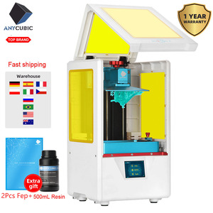 Image 2 - Anycubic Photon S SLA stampante 3d Kit stampante 3d in resina UV fai da te dentale doppio asse Z affettatrice laser impresora 3d drukarka 3d Jewerly