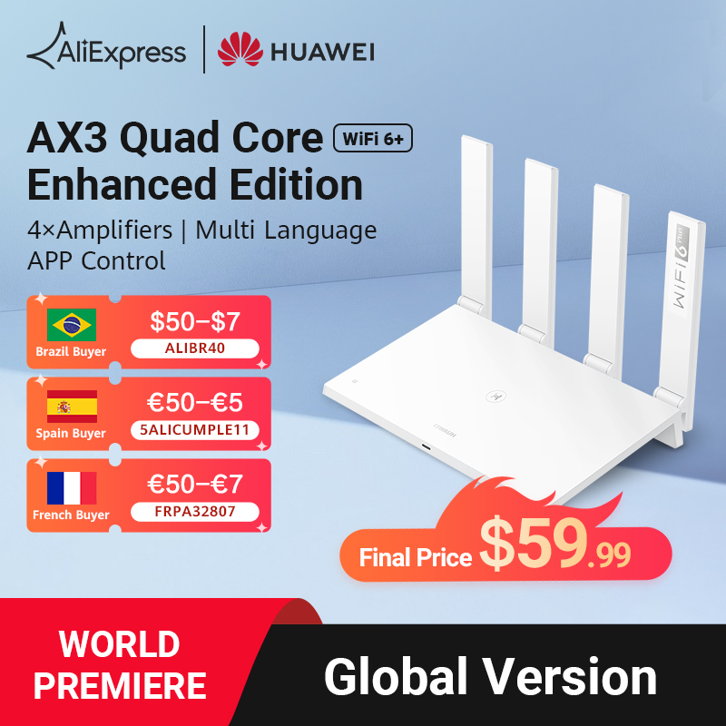 Huawei routeur wi fi AX3 Quad Core 3000 GHz et 5GHz dition am lior e 4