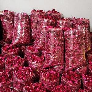 25 г/50 г/100 г/500 г DIY сушеные лепестки роз для свадебной вечеринки чистое натуральное растение для украшения дома красота Купание Замачивание п...