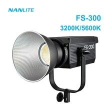 Nanguang – Nanlite FS 300 – éclairage de photographie Led 330w, projecteur 3200K 5600K, température de couleur unique, lampe de vidéo Photo