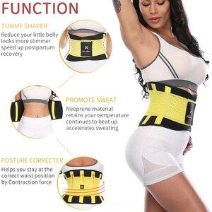 Image 3 - Fitness Belt Xtreme Power Thermo Body Shaper Waist Trainer Trimmer Corset Waist Belt Cincher Wrap Workout Shapewear Slimming