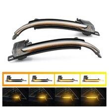 2 Stuks Dynamische Blinker Spiegel Licht Voor Audi A4 A5 B8 A3 8P Q3 A6 C6 4F S6 Led richtingaanwijzer Side Indicator Blinker SQ3 A8 D3 8K
