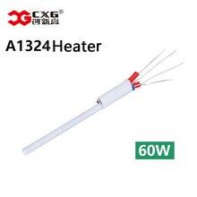 CXG A1324 высококачественный паяльник керамический нагревательный сердечник с функцией измерения температуры используется для 936d 60 Вт 110 В/220 В
