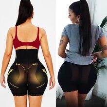 Twinso sexy bunda levantador bunda grande acolchoado hip enhancer shapewear mulheres cintura alta trainer coxa mais magro corpo shaper controle calcinha
