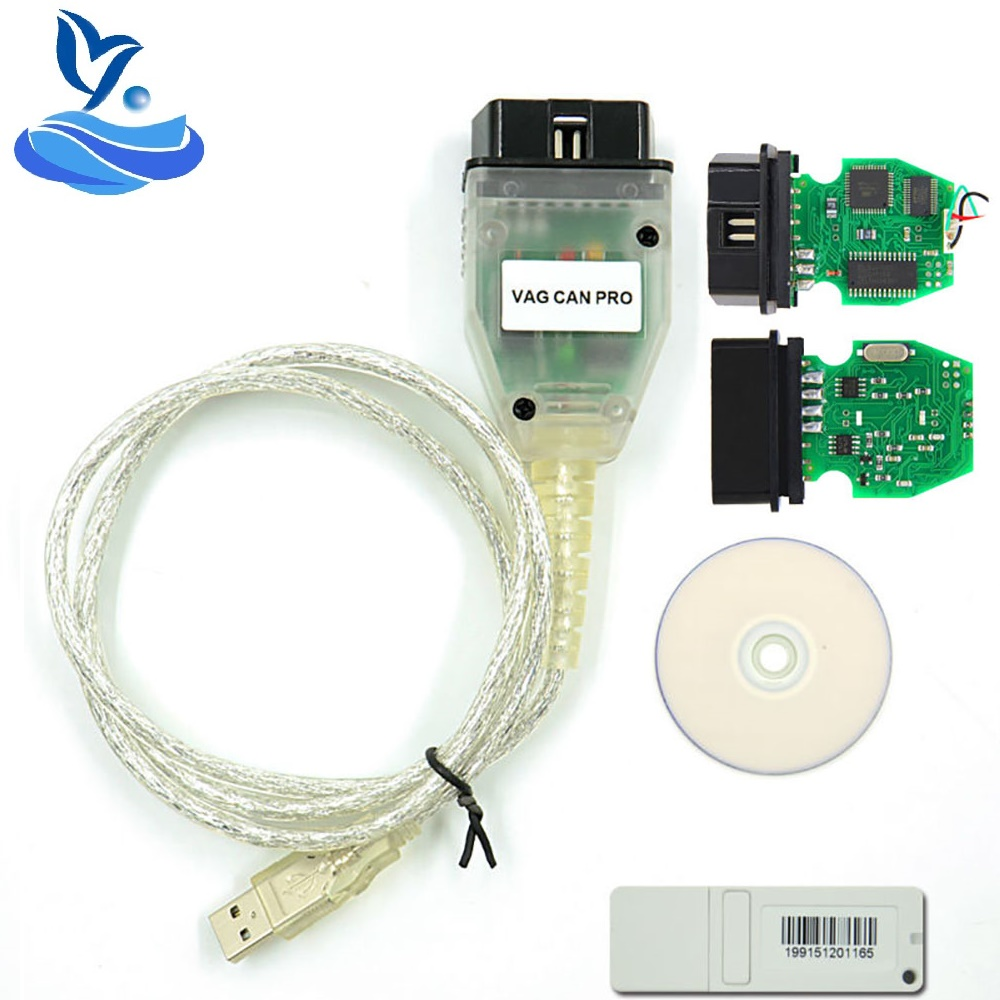 VAG puede PRO 5,51 BUS + UDS + K-line VCP escáner VAG PRO puede autobús OBD2 de diagnóstico Cable VAG puede PRO UDS VAG K-line
