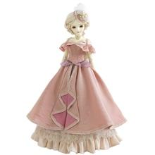 Dress Dolls-Accessories Bjd Dolls Retro European Royal Fashion DIY for 1/3 Gift-Pink