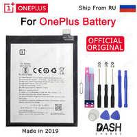 EIN PLUS Original Telefon Batterie BLP633 Für OnePlus 1 + 3T 3 5 5T 2 1 BLP571 BLP597 BLP613 BLP637 Ersatz Batterien Kostenloser Werkzeuge