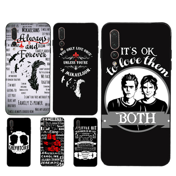 Diarios de vampiros, funda original de Mikaelson Always Forever para Huawei Honor 10i 8X 9 10 20 Lite 7A Pro 7C 8A 8C 8S 9X Y9 Y7 Nova 5T