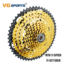 цена VG Sports Mountain Bike Cassette 11 Speed 52T Freewheel Roadbike Parts Kассета Sprocket For Shimano Sram 11V 11 Velocidade 52T онлайн в 2017 году