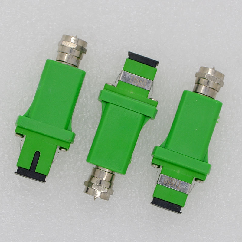 10pcs NEW FTTH 1550nm Optical Fiber Passive Optical Fiber Adapter CATV Opto-Signal Converter Optical Receiver Free Shipping