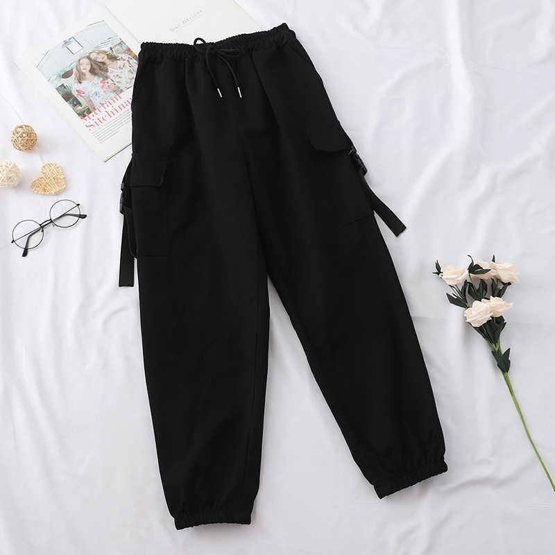 Heliar Pantalones Cargo Para Mujer Pantalones Largos De Mujer Cordon Largo Con Bolsillo Primavera 2021 Pantalones Y Pantalones Capri Aliexpress