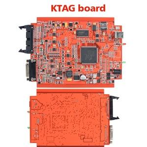 Image 4 - La UE rojo KESS V2 v5.017 maestro ktag v7.020 Gerente a kit No muestra lectura limitada KESS V2.47 V4.036 Unidad Principal ECU programador