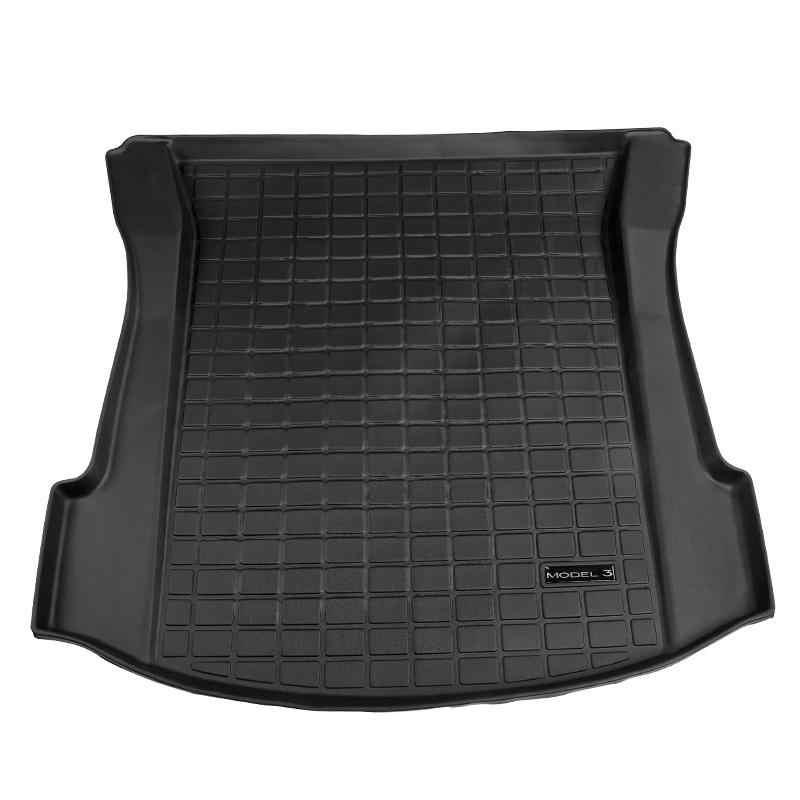 Bafire Waterdichte Kofferbak Matten Voor Tesla Model 3 Aangepaste Auto Kofferbak Opslag Mat Cargo Tray Kofferbak Beschermende Pads Mat