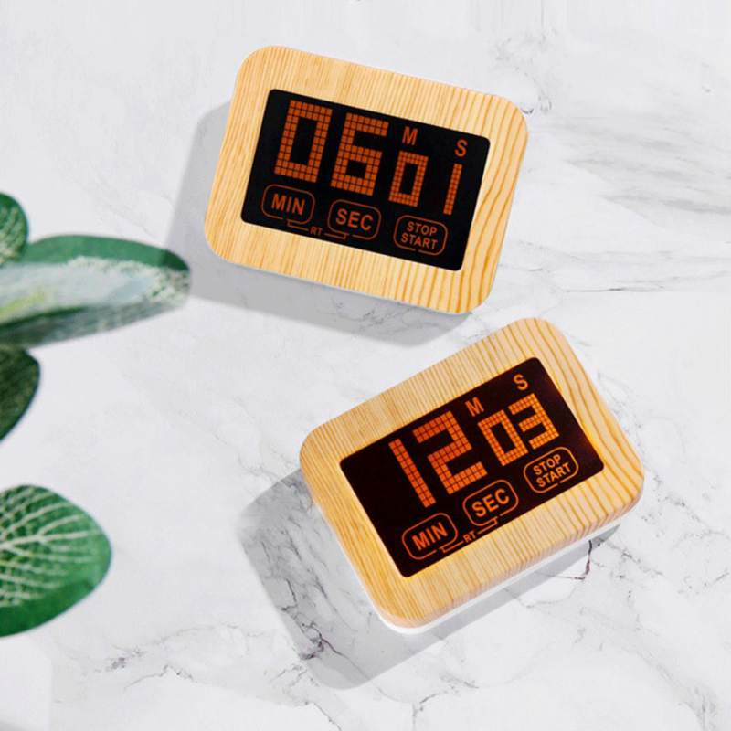 Practical Use Digital Kitchen Timer Large Display Home Electronic Kitchen Timer Stopwatch Cooking Tools Study Alarm Gadgets
