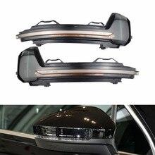 Dynamic Mirror For Volkswagen Tiguan MK2 II R 5N for VW Light LED Indicator Rearview Blinker Turn Signal 2017 2018