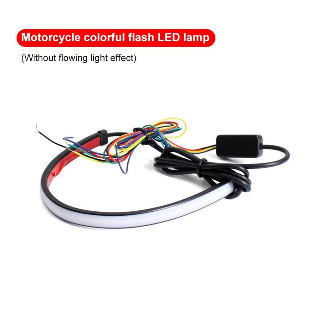 Мотоциклетный задний светодиодный светильник с последовательным