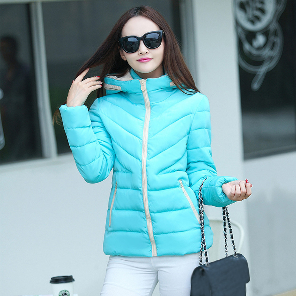 H36c80c26576b40a1b554af1085834985d fashion Women's Jackets Hooded Thickening Slim Outwear Winter Warm Casual Short Jacket Women Coat Outwear Tops