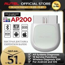Autel AP200 Bluetooth OBD2 Scanner Automotivo OBD 2 TPMS Code Leser Auto Diagnose Werkzeug PK Thinkcar Thinkdiag Easydiag