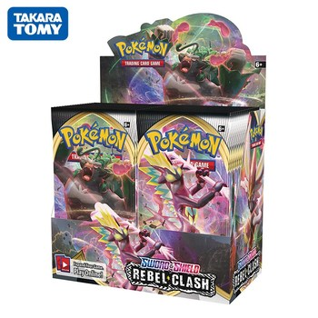 360Pcs/box Pokemon Cards TCG: Sun & Moon Series Booster Box Games Collectible Trading Card Game Kids Toys 2