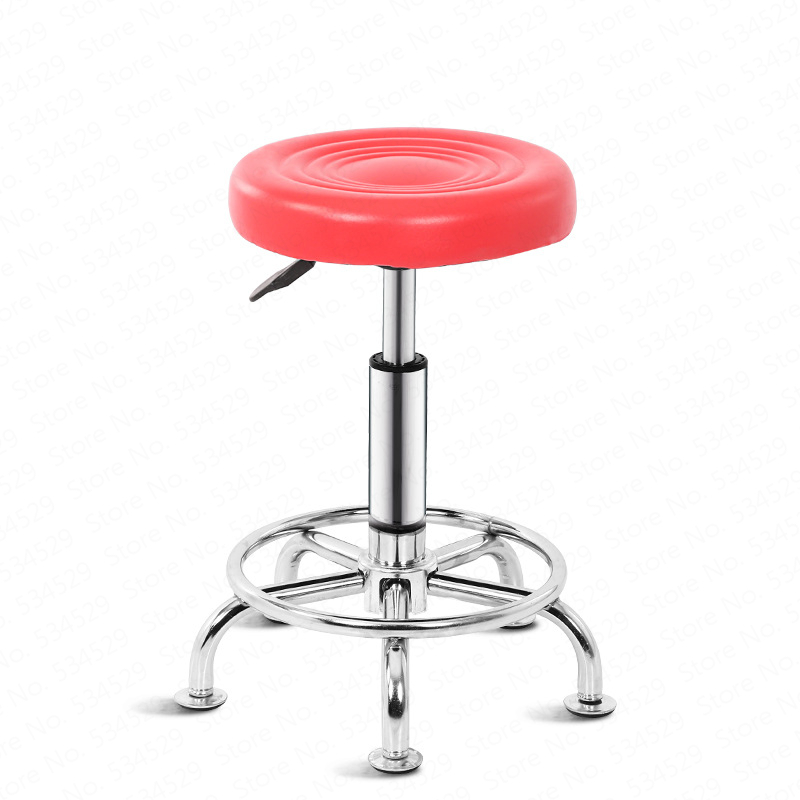 European Bar Stool Bar Chair Beauty Chair Back Stool Rotating Lift Bar Stool High Stool Fashion Bar Chair Lifting 47-62cm
