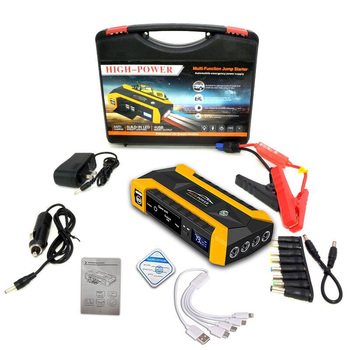 89800mAh Car Jump Starter 12V 4USB 600A Portable Battery Booster Charger Power Bank Starting Device