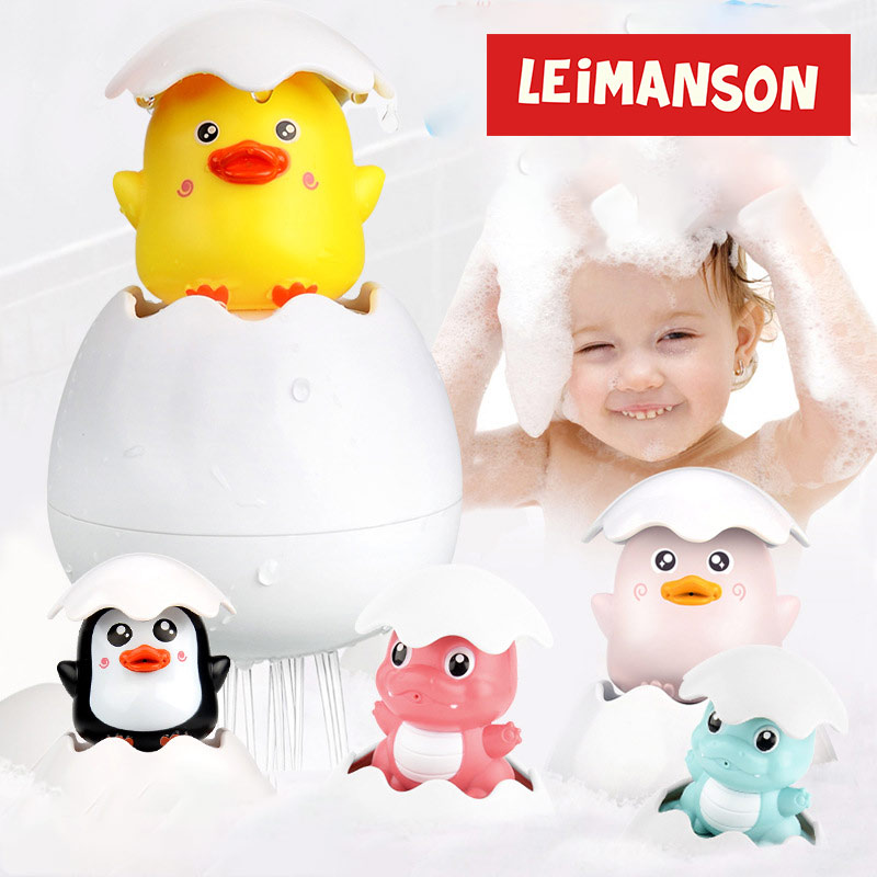 Creative Baby Float Water Bathing Toys Yellow Duck Shower Toys Bathroom Play Animals For Children Funny Game For The Bathroom