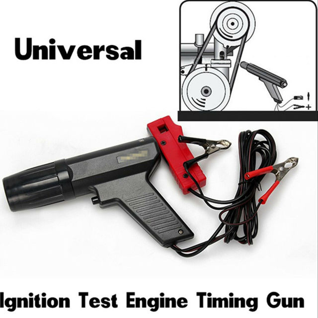 Strumento diagnostico automatico della pistola di temporizzazione del motore dellanalizzatore automobilistico della benzina induttiva della luce stroboscopica dellaccensione del motociclo 12V dellautomobile