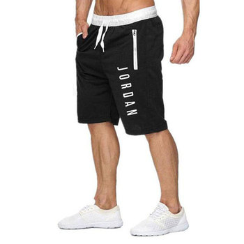 New Jordan shorts men's fitness bodybuilding shorts men's summer gym exercise men's breathable quick-drying sportswear jogging 9