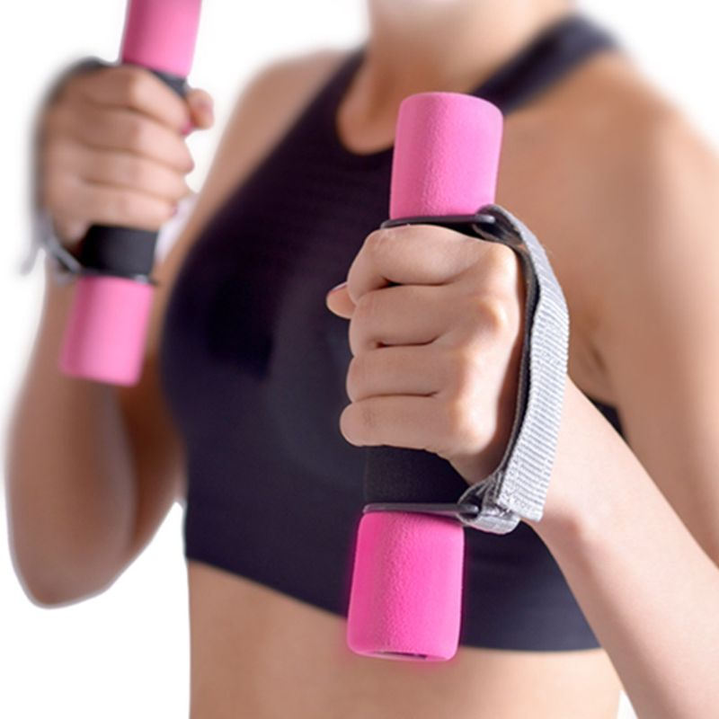 Exercise A Pair Walking Dumbbells Hand Weights Aerobics Workout Fitness Sport Hotselling image