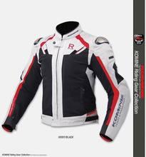 Komine JK063 – veste de conduite en maille de titane pour hommes, avec protection, pour Motocross, moto