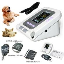 Veterinary Digital Blood Pressure Monitor 08A-VET Electronic Sphygmomanomete Heart Rate PR NIBP 6-11cm 10-19CM  18-26CM 3 Cuffs