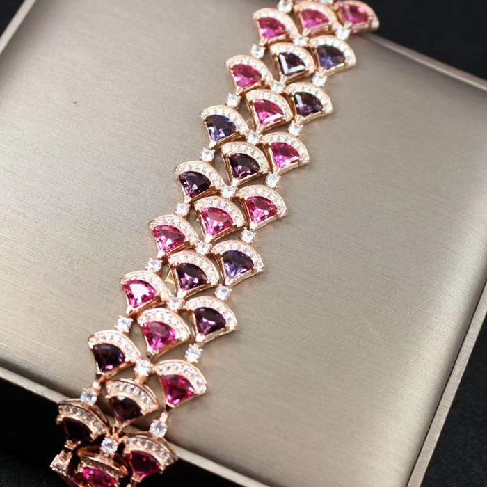 Designer Fashion Copper Jewelry 3A Cubic Zirconia Party Bracelet|party bracelet|bracelet designerbracelet fashion - AliExpress