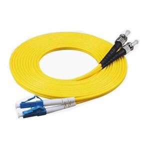 Image 5 - LC ST Fiber Optic Patch Kabel OS1 single mode Duplex Fiber Patchkabel Kabel 3Meter 3,0mm PVC LC ST UPC fiber Optic jumper Kabel