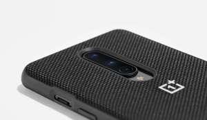 Image 3 - Funda de OnePlus 8 Pro Original oficial, funda de acrílico Kevlar Karbon, piedra arenisca de carbono de nailon Oneplus 6T 7T Pro, funda, carcasa trasera