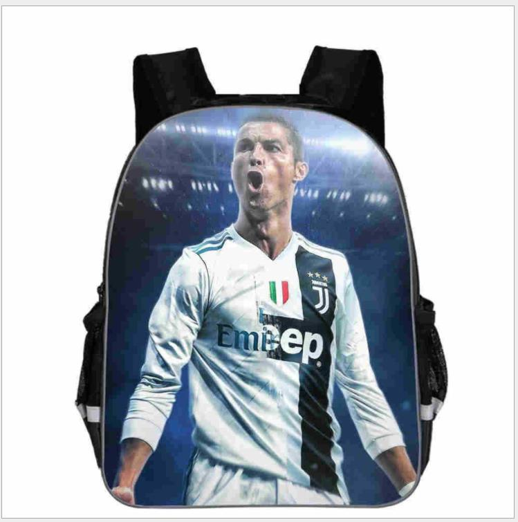 Cristiano Ronaldo Backpack Beautiful CR7 Rucksack Students School Backpack Back To School Gift School Bags Boys Girls Mochilas
