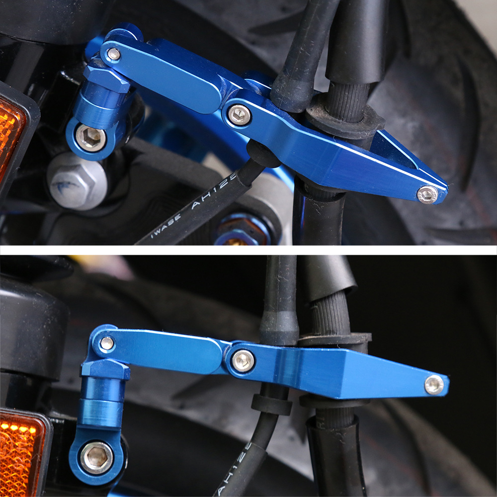 Applicable Yamaha Modified General Parts Pedal Motorcycle Brake Cable Clamp Kawasaki Line Folding Retaining Clip