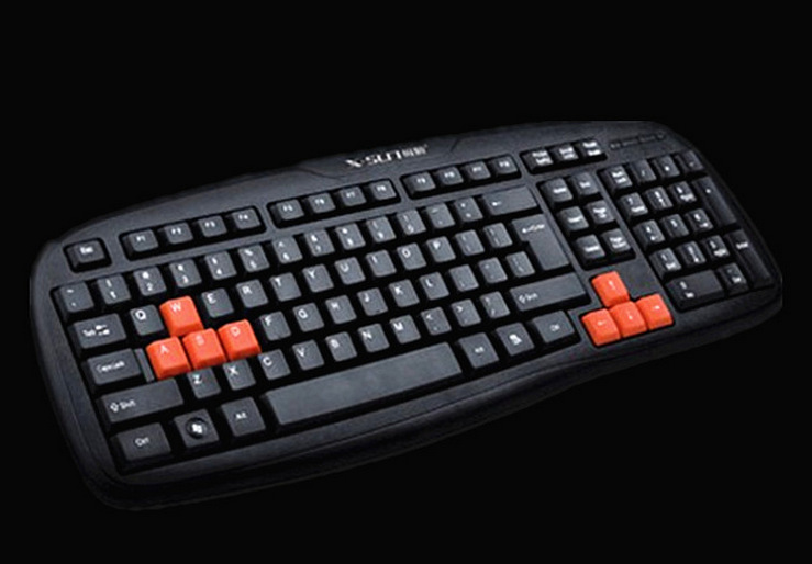Ji Shun XK2500 USB Keyboard Gaming Keyboard Company For Home & Office Use Game Computer Accessories Supplies Wholesale
