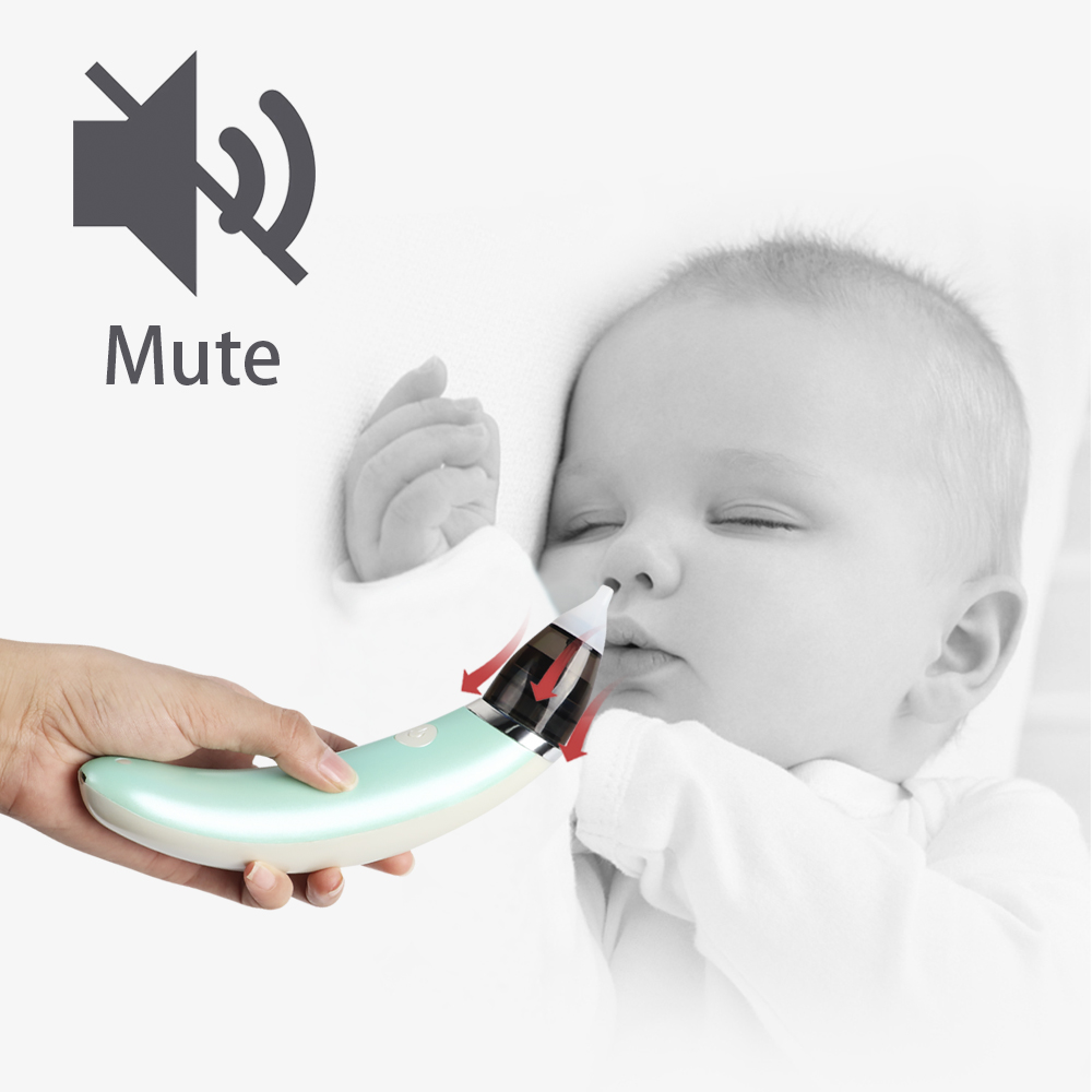 New Noiseless Baby Nose Cleaner Nasal Aspirator Electric Suction Pumps For Newborns Bebe Care Product