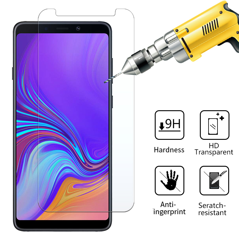 защитно стъкло на за samsung A9 A 9 2018 9A a92018 cam galaxy samsunga9 glaxay screenprotector Armor sheet tempered glas film