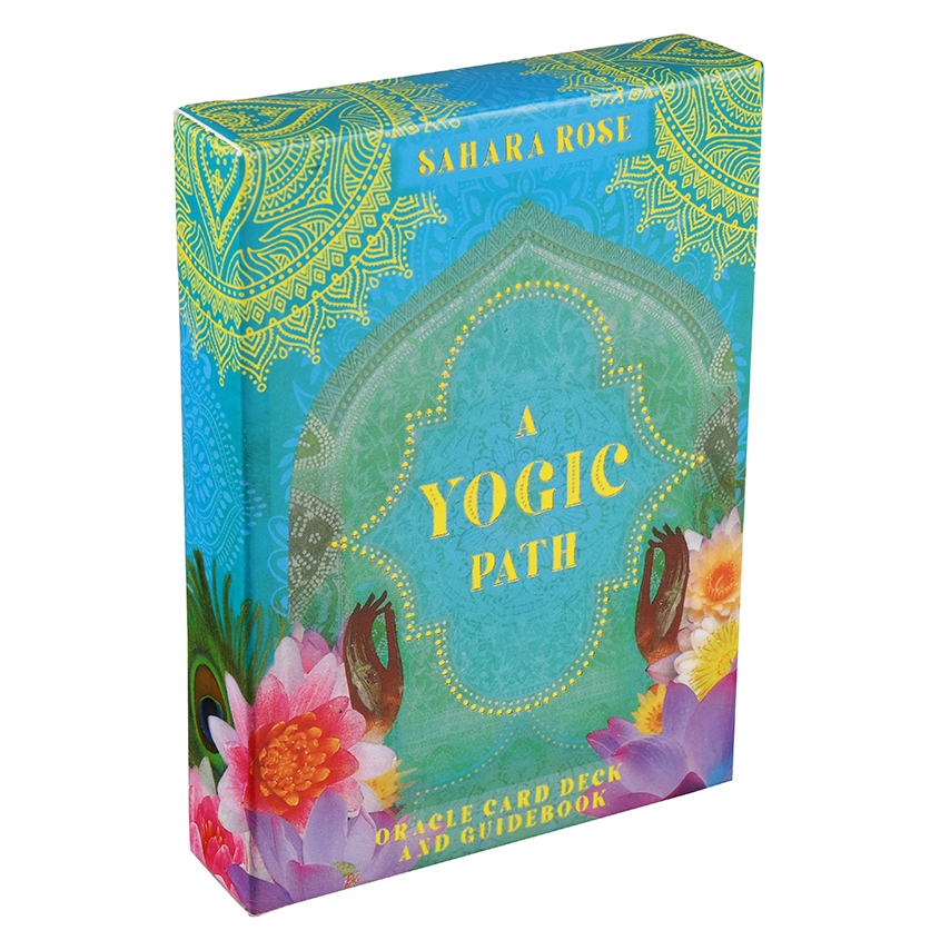A Yogic Path Oracles Deck Card And Electronic Guidebook Tarot Game Toy Tarot Divination Guide Ancient Yogic Wisdom