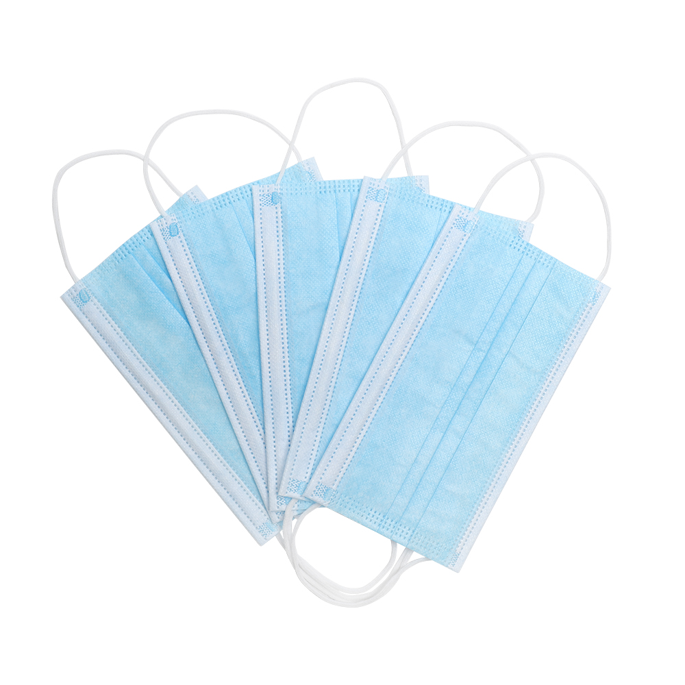 10/20/50/100pcs Disposable Mask Face Mouth Mask Non Woven  Earloops Masks
