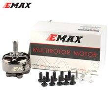 Emax eco ii 2306 1700kv 1900kv 2400kv 3-6s motor sem escova para rc fpv que compete o brinquedo do zangão 4k quadcopter