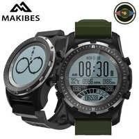 Makibes BR2 kompas GPS prędkościomierz zegarek sportowy Bluetooth turystyczne wielo-Sport inteligentny zegarek fitness smart Watch urządzenia przenośne