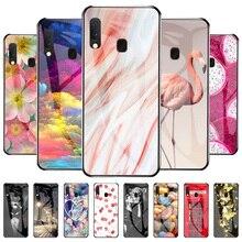 Hard Phone Case For Samsung A20e Case Tempered Glass Bumper For Samsung A20 E Galaxy A20e SM A202F/DS Shockproof Fundas 6.5 inch
